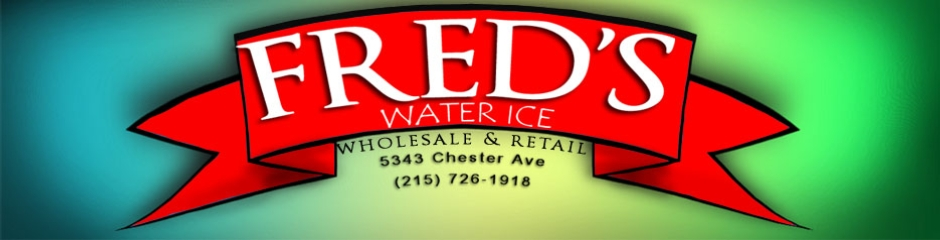 Fred&#039;s Water Ice